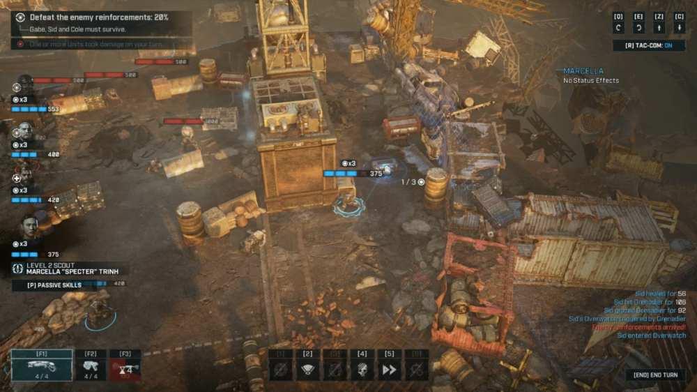 gears tactics upgrade weapons