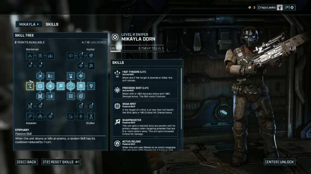 respec in Gears Tactics
