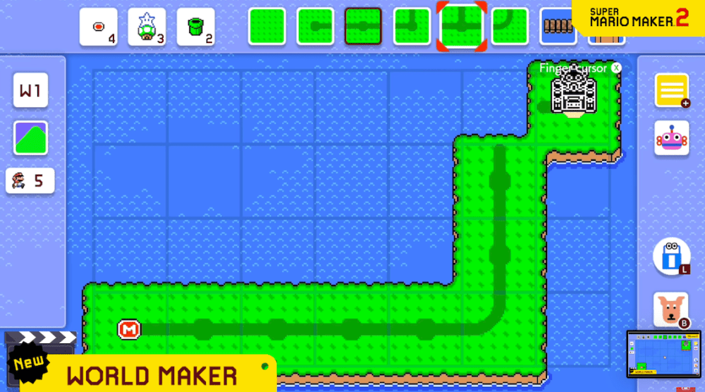 how to create worlds super mario maker 2
