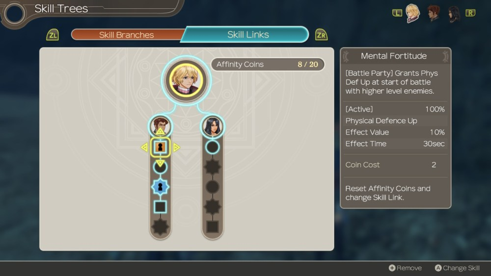 Xenoblade chronicles affinity coins