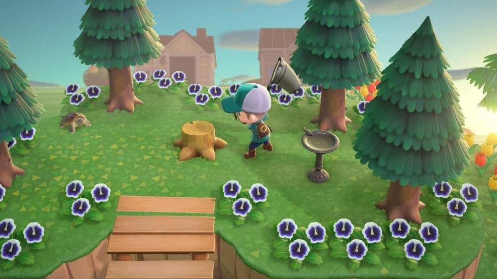 Animal Crossing New Horizons Rosalia Batesi Tree Stump