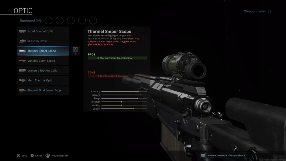 warzone, thermal scope
