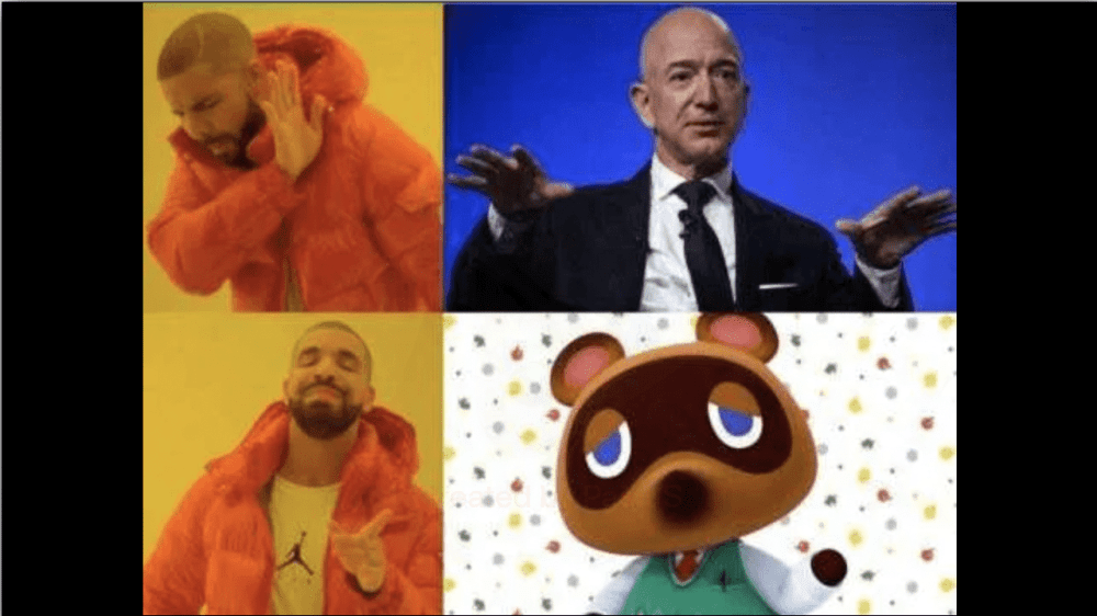 tom nook animal crossing memes