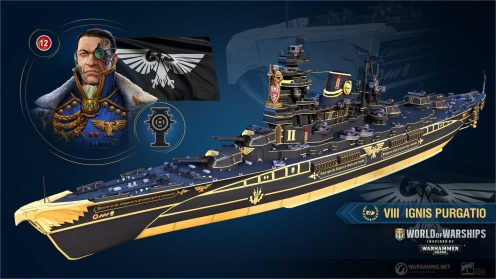 World of Warships Warhammer 40k (1)