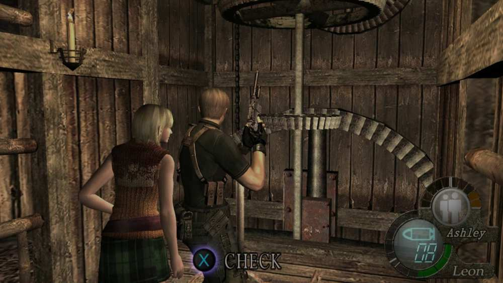 RE 4 Ashley
