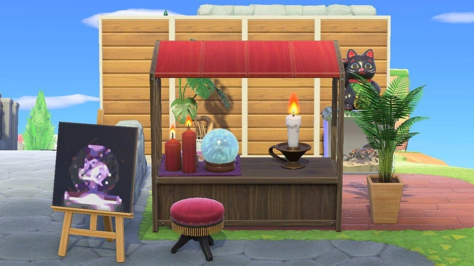animal crossing new horizons simple panels