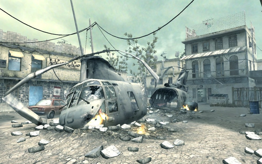 crash, iconic call of duty maps