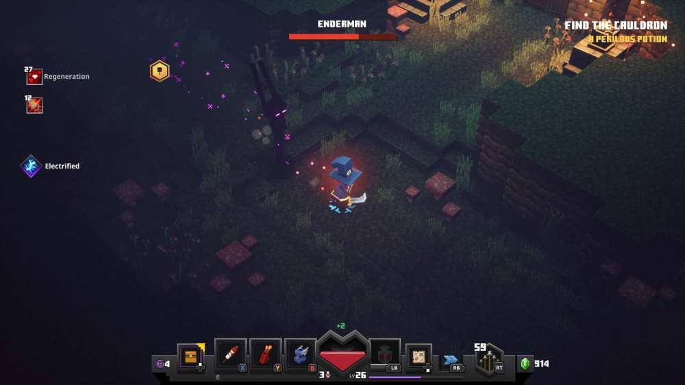 minecraft dungeons enderman
