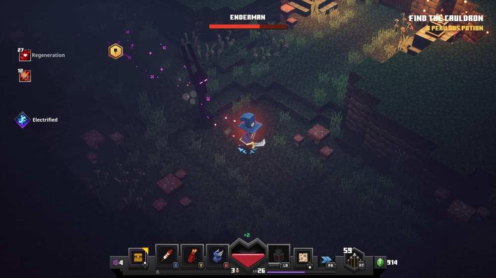 Minecraft Dungeon Enderman