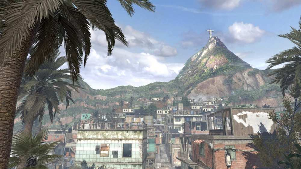 favela, iconic call of duty maps