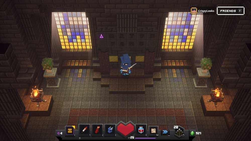 minecraft dungeons secret level
