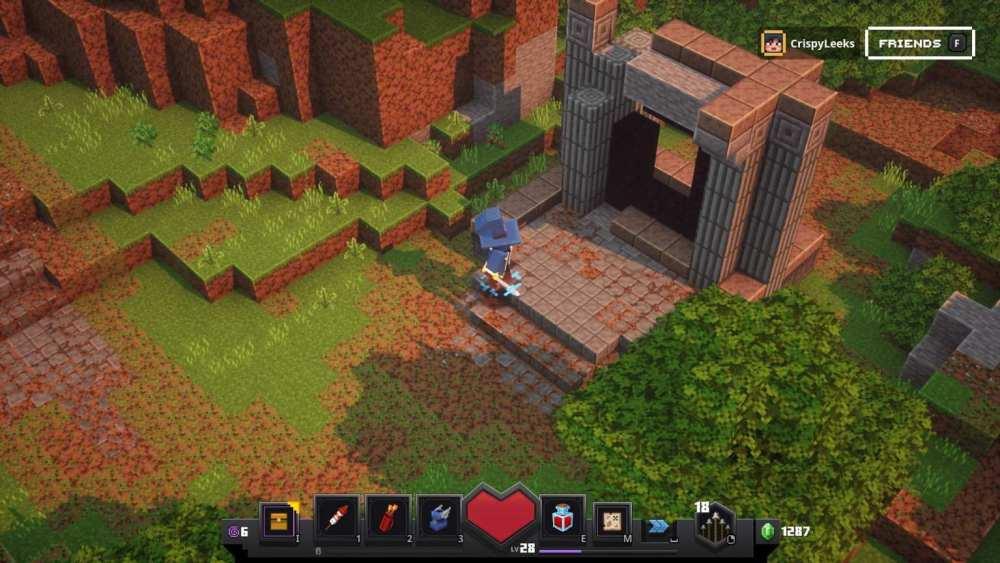 minecraft dungeons nether portal