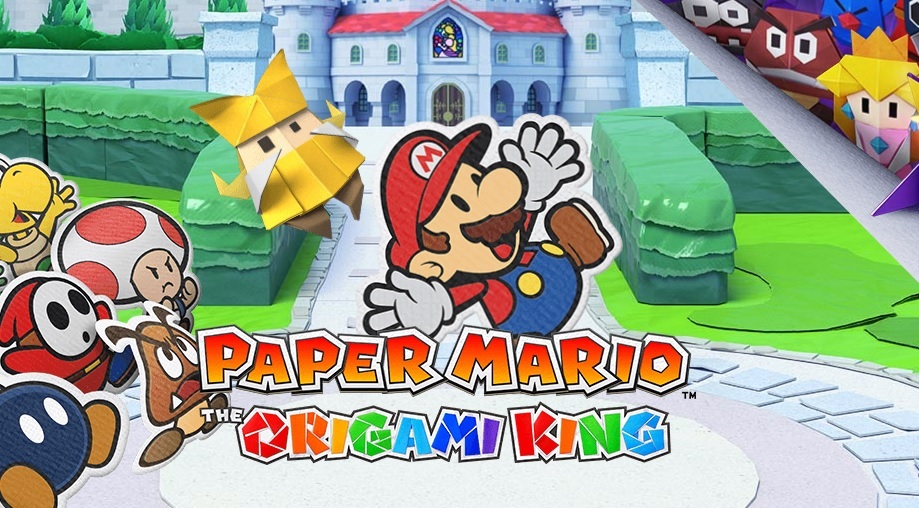 paper mario, origami king, new switch games, new switch releases july 2020