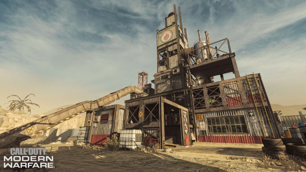 rust, iconic call of duty maps