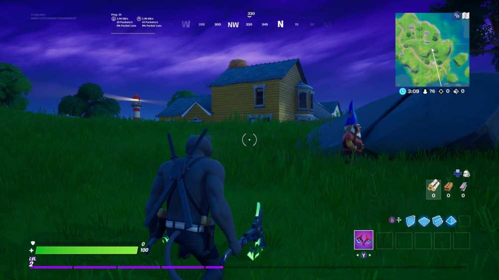 fortnite homely hills gnome locations