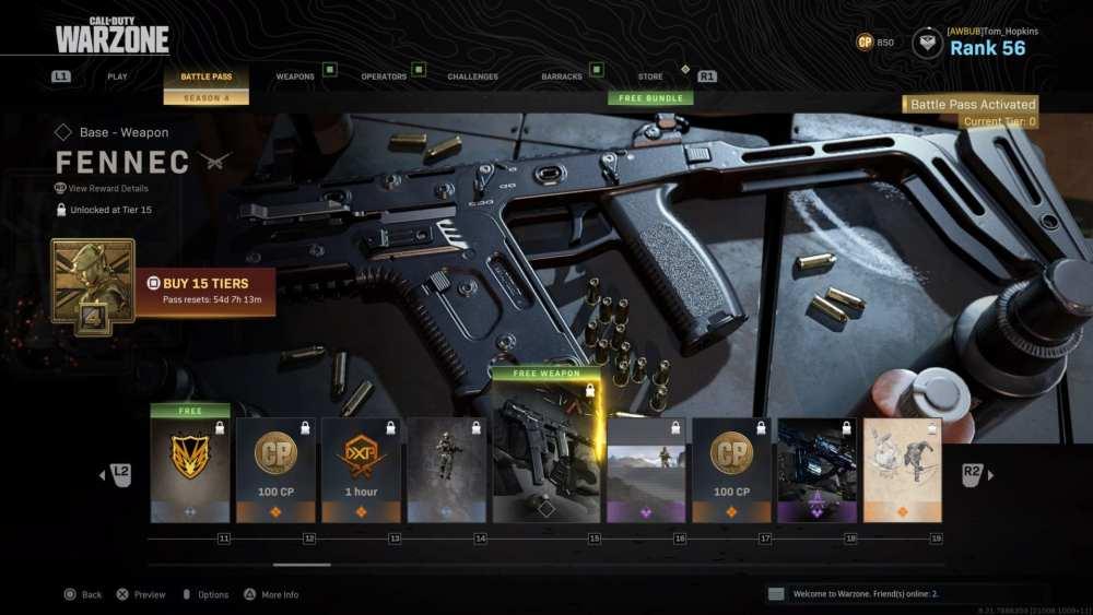 warzone, modern warfare, new weapons, fennec