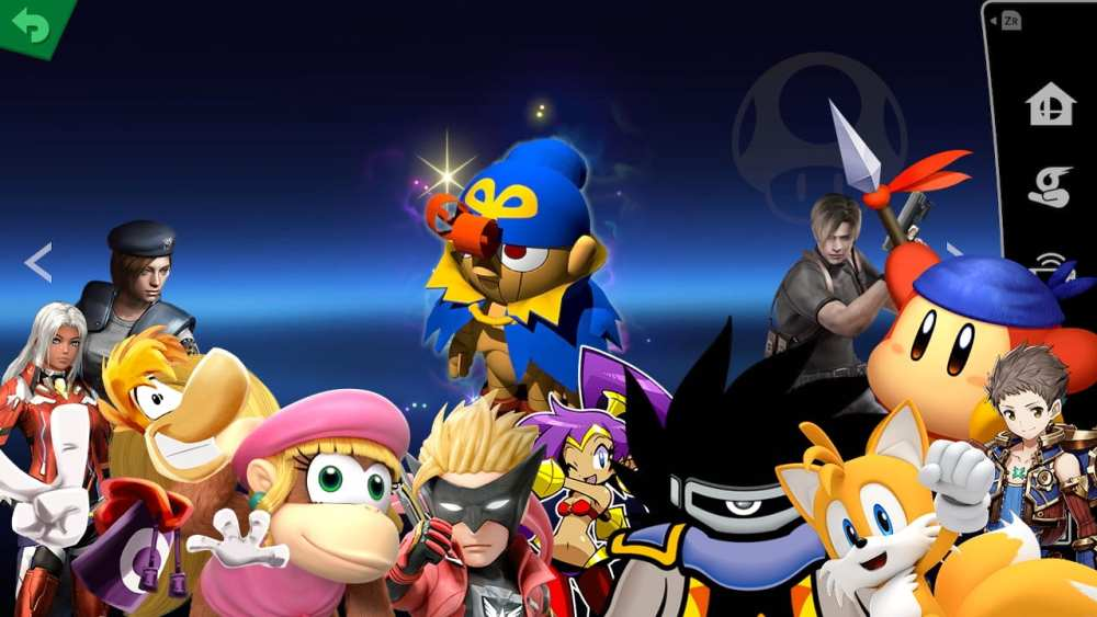 Spirit characters