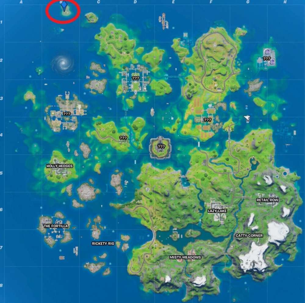 Where to Complete Fortnite's Coral Buddies Secret Challenge