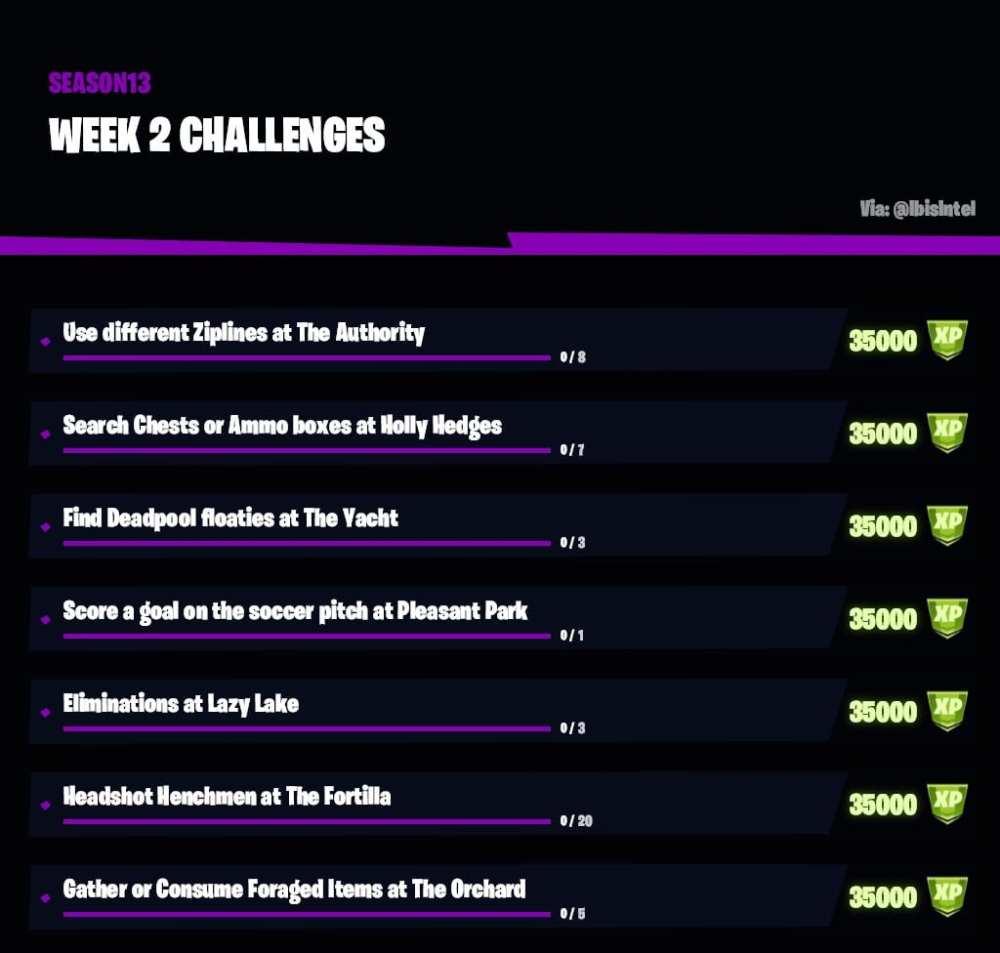 vierzehn Wochen 2 Herausforderungen