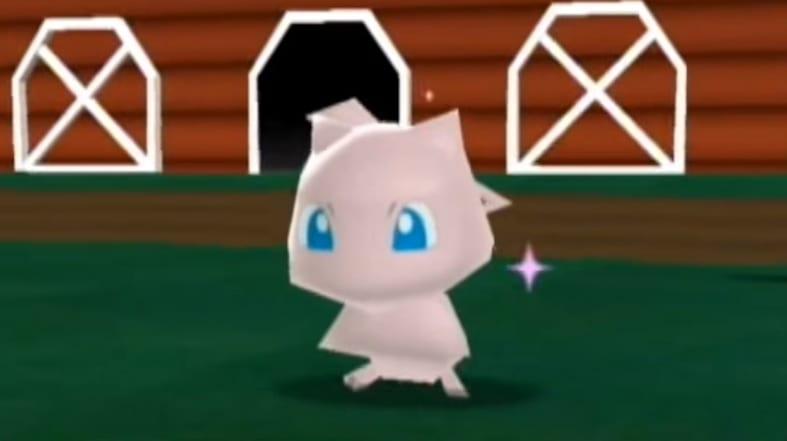 mew, my pokemon ranch