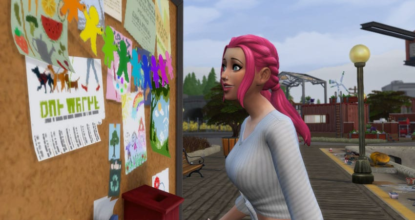 influence points in sims 4 eco lifestyle
