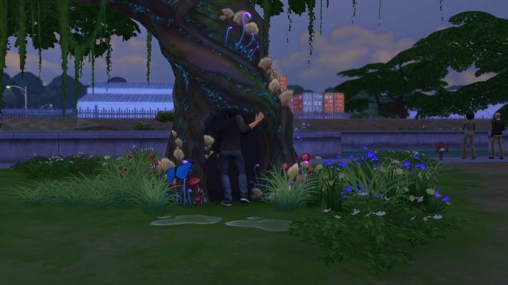 sims 4 magic beans, sims 4 magic tree