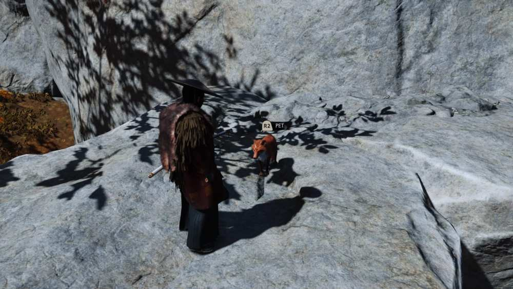 pet fox ghost of tsushima
