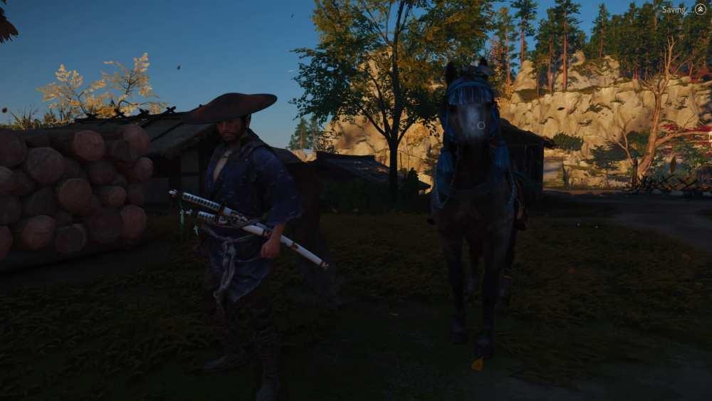 ghost of tsushima, change horse, new horse