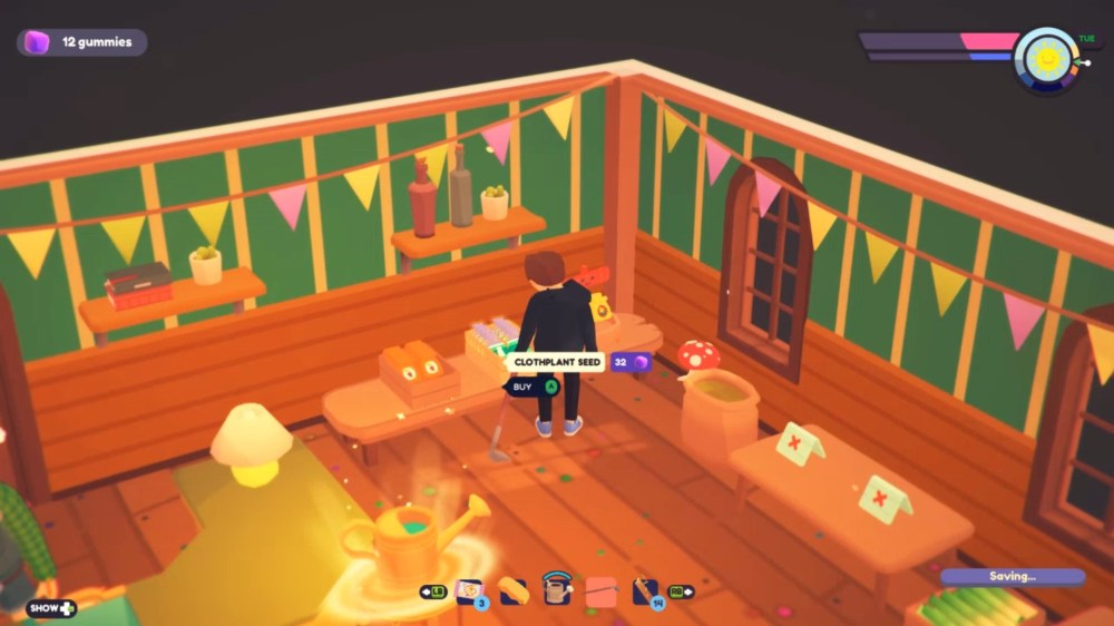 getting clothlet in ooblets