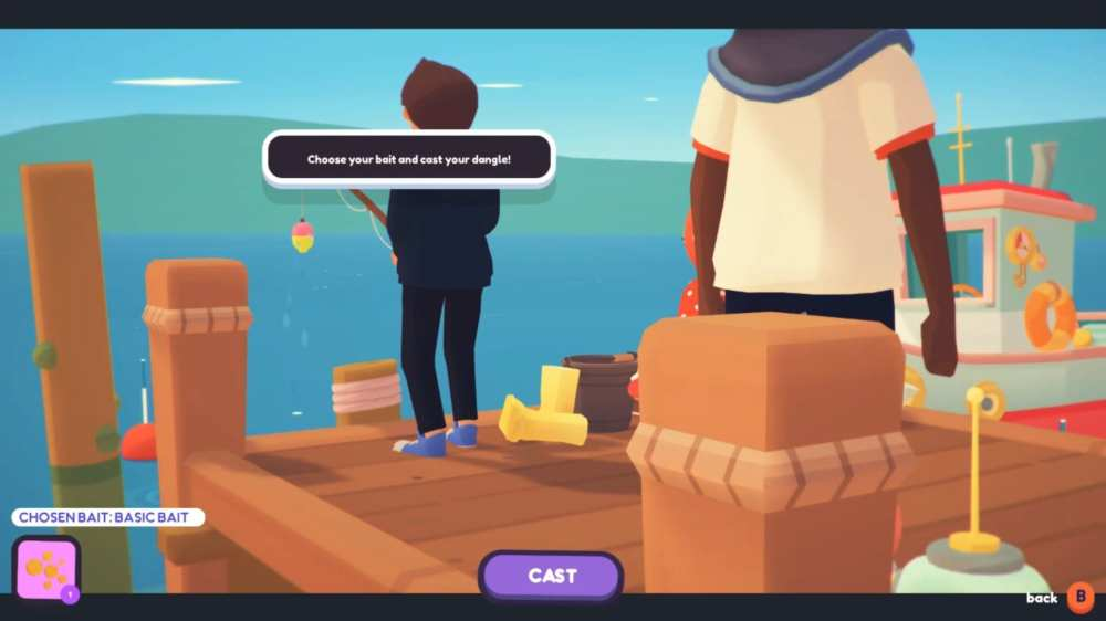fishing in ooblets