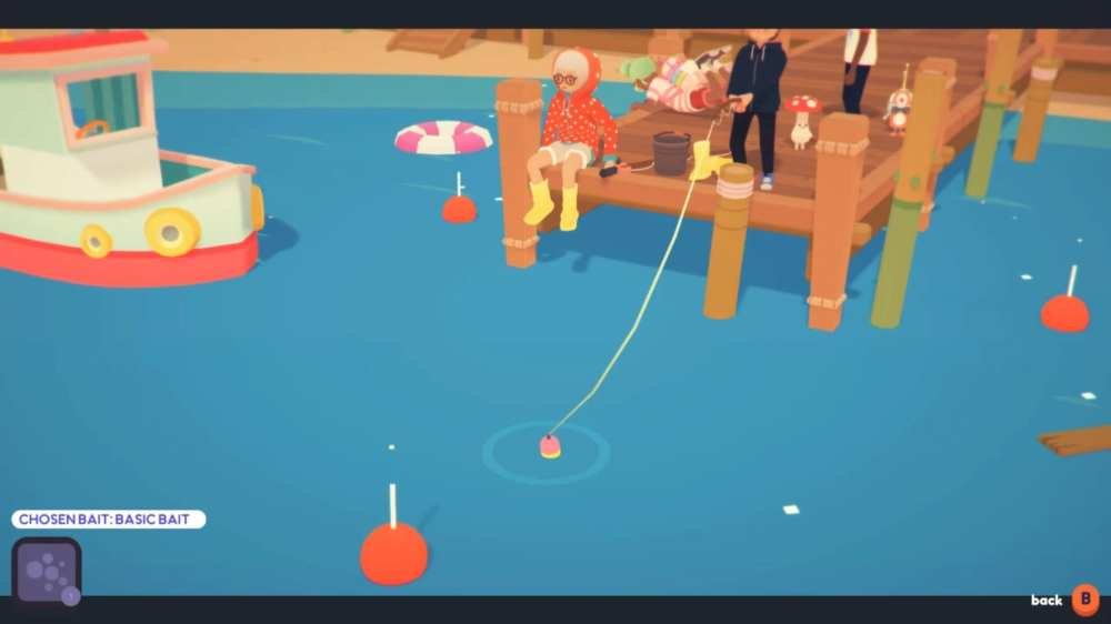 sea dangling in ooblets