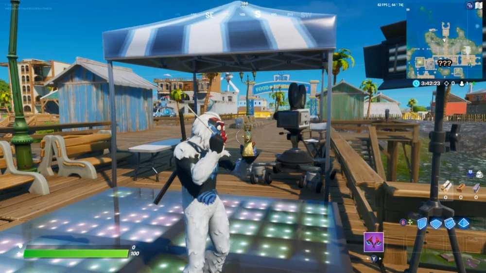 fortnite sweaty sands camera dance