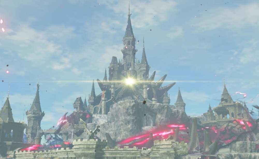 hyrule castle, breath of the wild