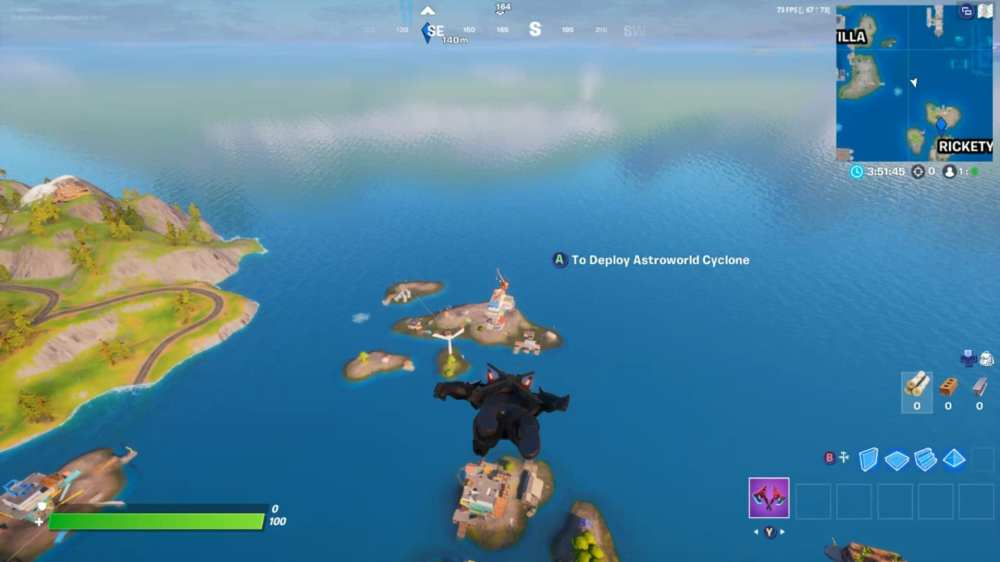 dance on top of crane at rickety rig in fortnite