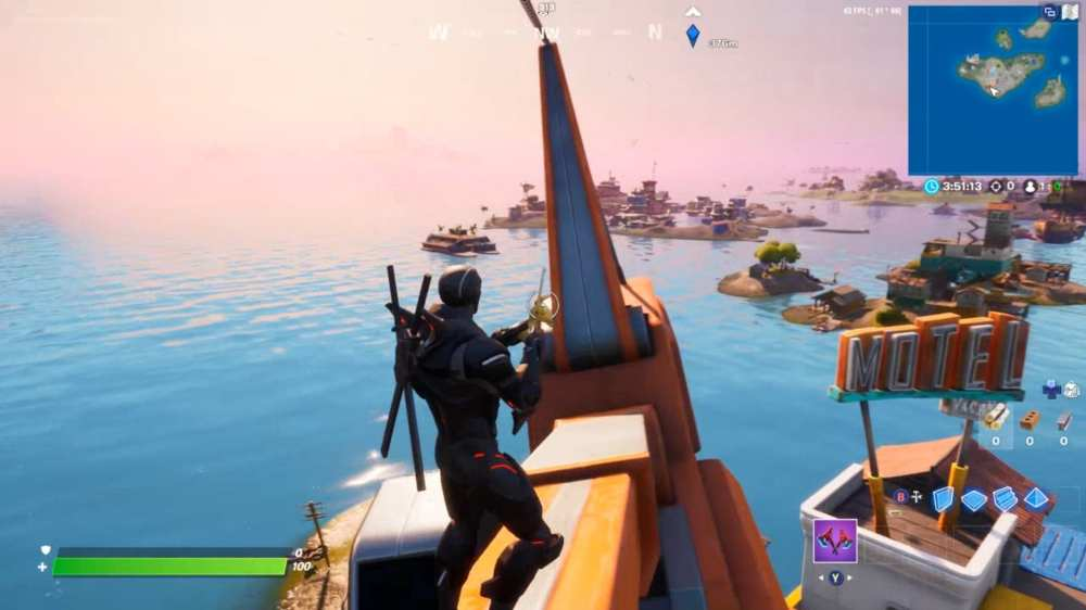 fortnite rickety ring crane
