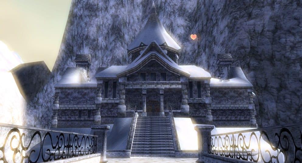 snowpeak ruins, twilight princess