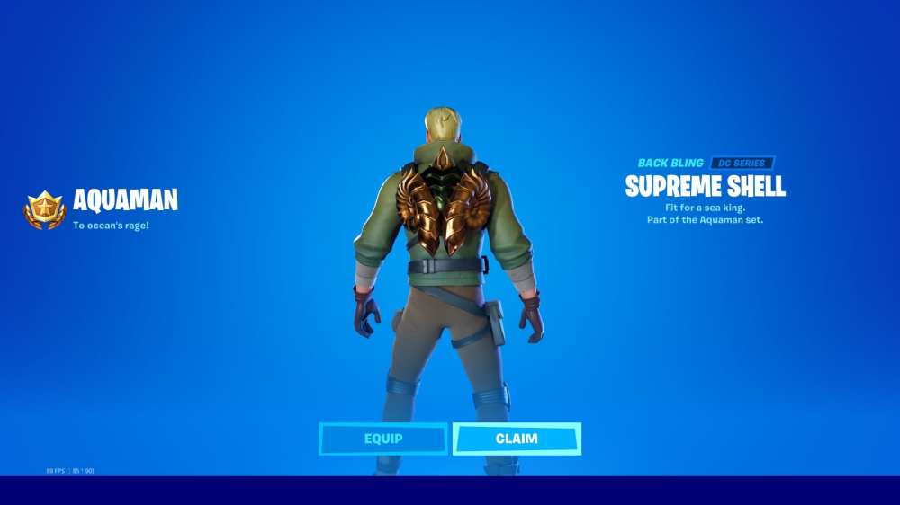 fortnite supreme shell back bling