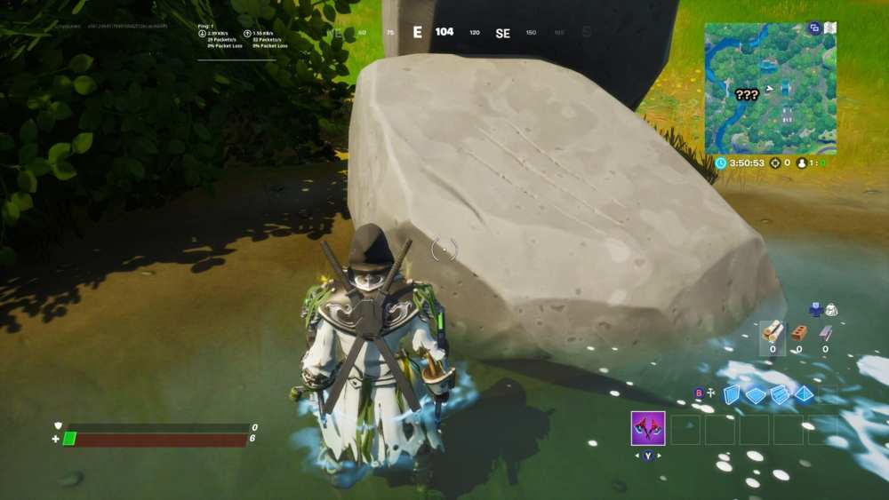 fortnite mysterious claw mark locations