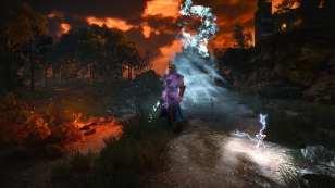 witcher 3 mods, magic spells