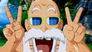 Dragon Ball FighterZ Master Roshi