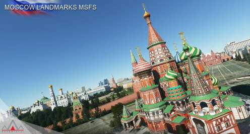 Microsoft Flight Simulator Moscow