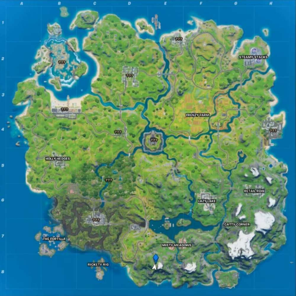 fortnite apres ski map location