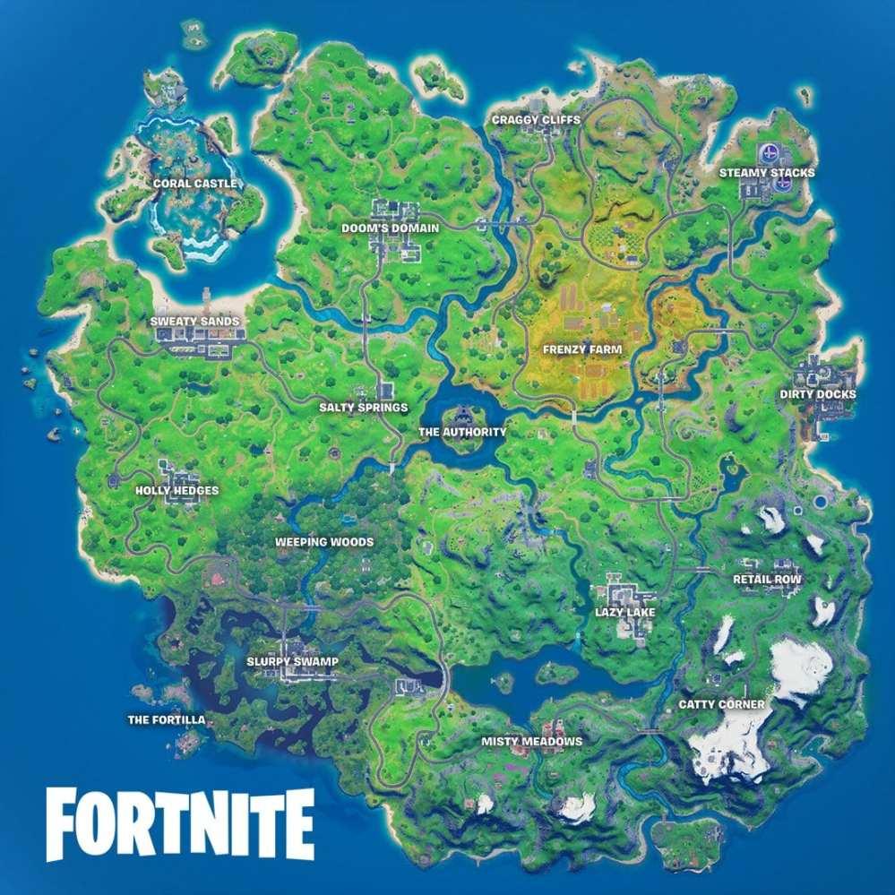 Fortnite Chapter 2 Season 4 Map: What It Looks Like