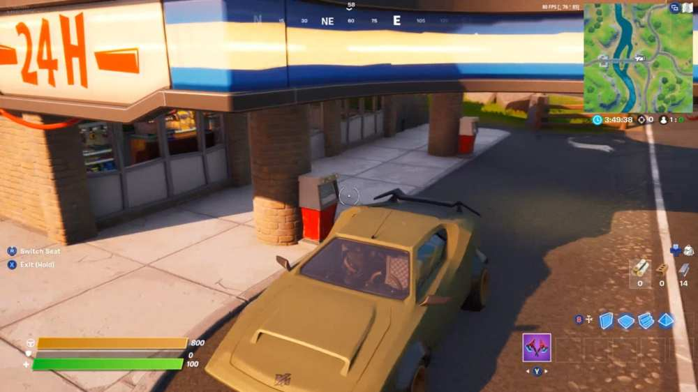 how to refuel your car in fortnite