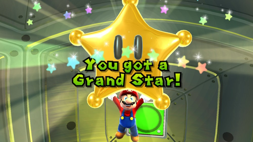 super mario galaxy, grand star