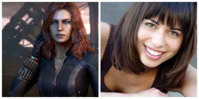 Laura Bailey - Black Widow / Natasha Romanoff