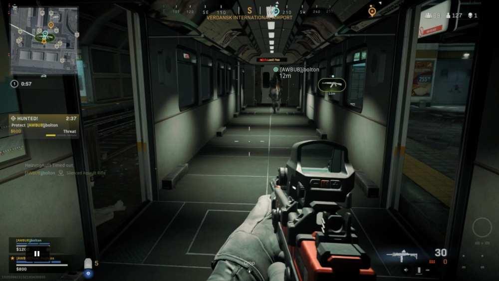 warzone, subway system