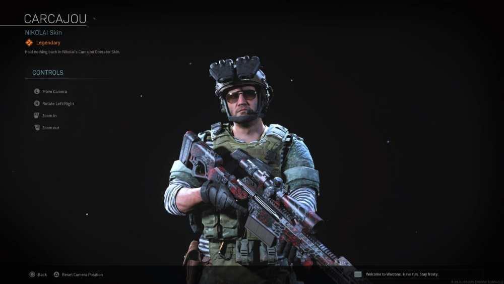 modern warfare, tier 100 nikolai skins