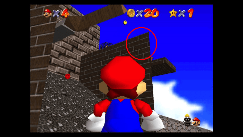 how to blast away the wall, super mario 64, mario 3d all stars