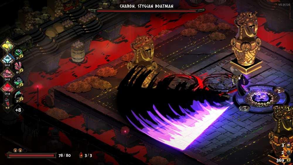 Hades Charon Boss Fight